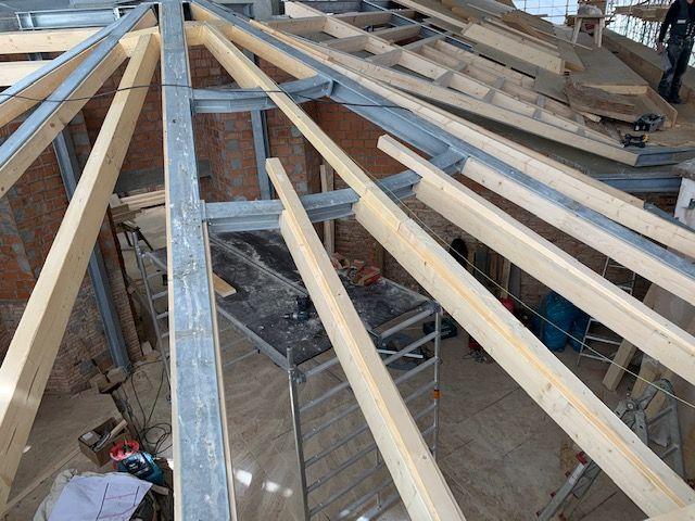 Schwierige Dachkonstruktionen, Rundell, Zimmermanns Arbeiten in Wiesbaden