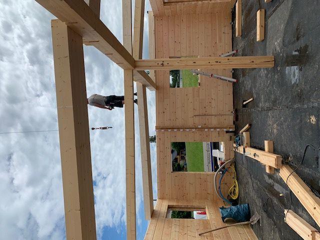 Blockhausbau - Blockhausbausatz mit Montage in Bayern