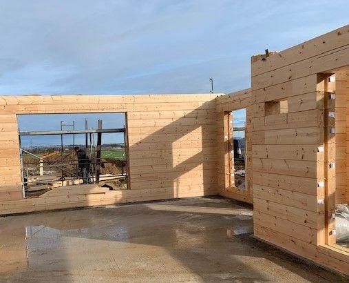 Holzbau Brandt - Blockhaus mit Montage in Bayern