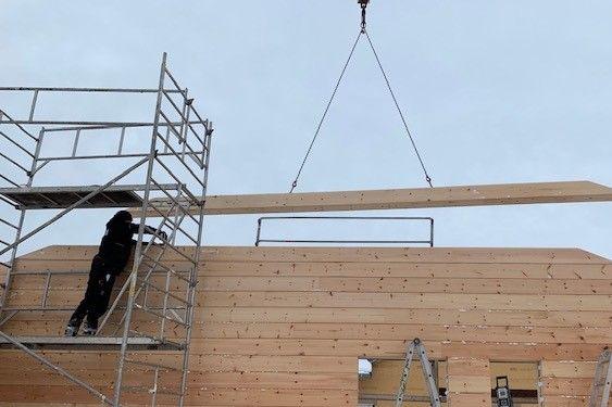 Holzbau Brandt - Winterbau - Blockhaus Bauen