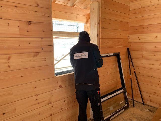 Holzbau Brandt - Fenster - Fensterbau - Blockhaus Rohbau