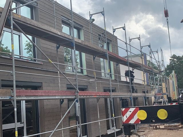 Holzbau Brandt - Mehrfamilienhaus - Zimmererarbeiten in Erlagen Bayern