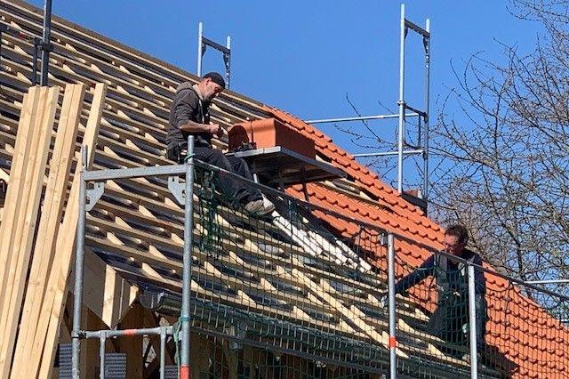 Hausbau - Einfamilienhaus - Holzbau - Dachdecker