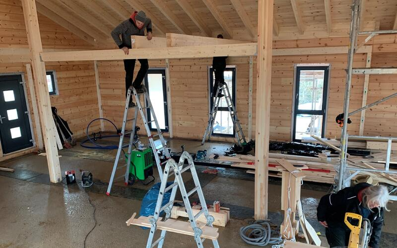 Holzbau Brandt - Zimmerei in Niedersachsen - Blockhausbau
