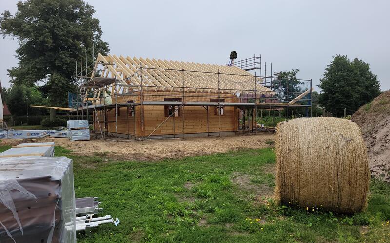 Holzbau Brandt - Blockhausbau - Blockhaus als Wohnhaus