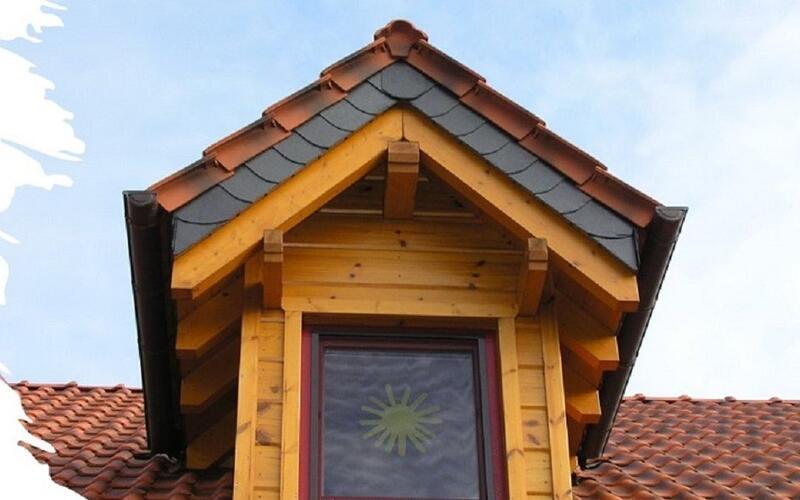 Holzbau Brandt - Spitzgaube - Blockhaus