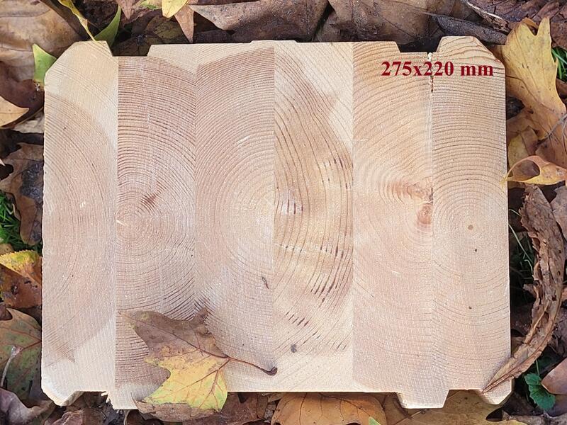Holzbau Brandt - Formstabiles, rissfreies Baumaterial für langlebige Blockhäuser - Holz - Polarholz