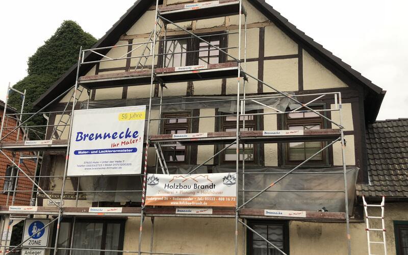Fachwerkhaus in Bodenwerder bei Hannover in Niedersachsen